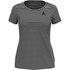 Odlo Concord Element T-Shirt S/S Crew Neck Women, white/black
